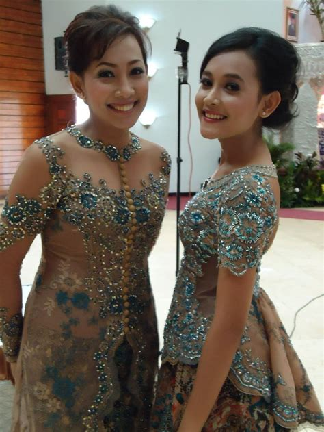 Kebaya Mewah 6 the sheer kebaya and the peplum one pakaian