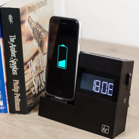 kitsound  dock  iphone      clock radio speaker dock