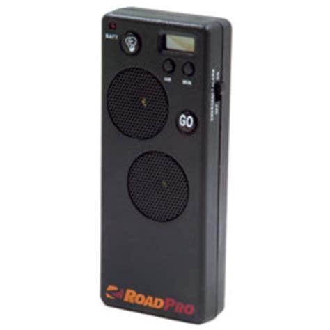 roadpro rp110db loud sleep timer trucker s alarm 12volt travel 174