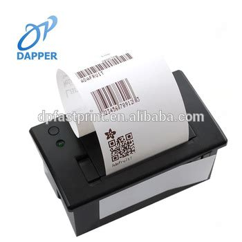 Limited Edition Label Barcode 50 X 20 Mm 2 Line 1 Inch Isi mini panel thermal printer 57mm paper width serial port thermal printer parallel barcode label