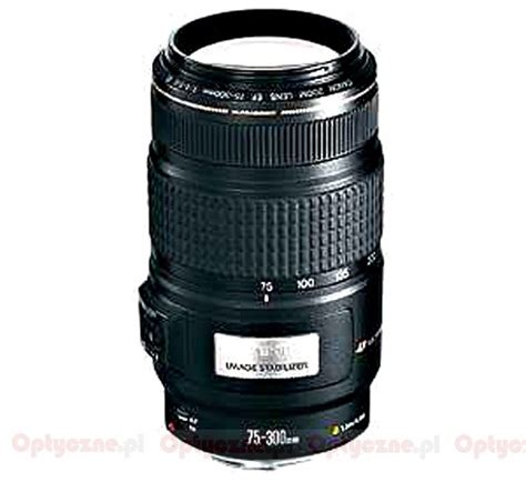 Lensa Canon 75 300 Is Usm canon ef 75 300 mm f 4 5 6 is usm optyczne pl