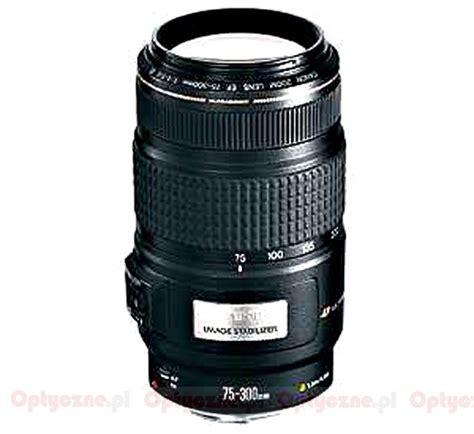 Kamera Canon Lexus canon ef 75 300 mm f 4 5 6 is usm optyczne pl