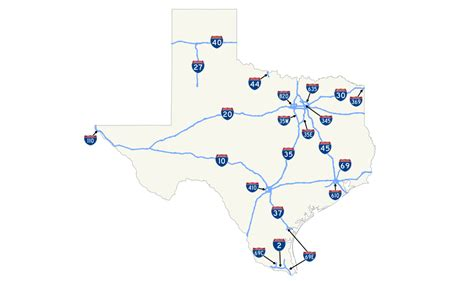 texas road condition map file map of interstate highways in texas svg wikimedia commons