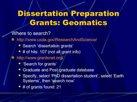 dissertation funding dissertation presentation grants powerpoint presentation