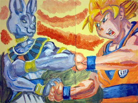 imagenes de goku los dioses goku batalla de los dioses by joecastle on deviantart