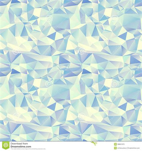 seamless pattern ice ice seamless pattern crystal background stock vector
