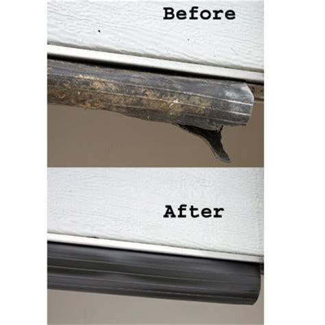 replace garage door seal proseal garage door seal 20 ft 21 95 replace worn or damaged garage door seals easily