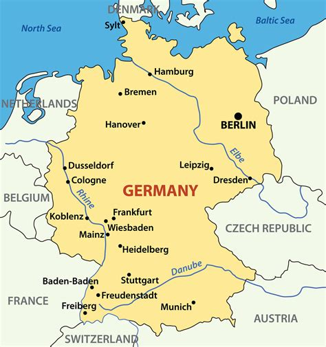 map germany map germany