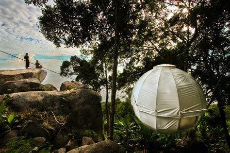 hanging tree house designs cocoon tree spherical hanging tree house kit