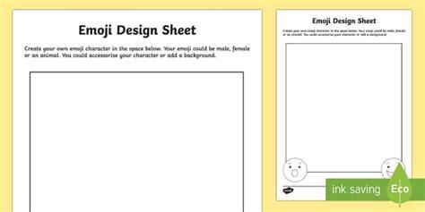 activity layout how to create new start new activity ks2 emoji design activity sheet ks2 ks2 emoji ks2 emoji