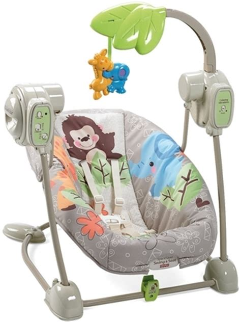 space saving swing fisher price precious planet earth space saver swing