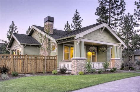 northwest style craftsman house plan single story
