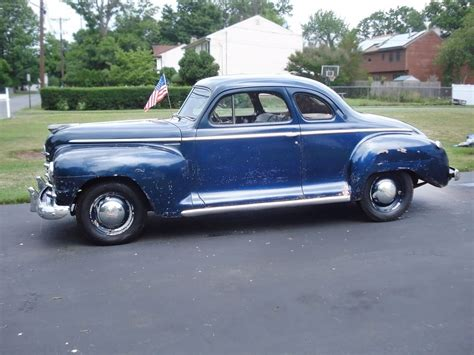 1947 plymouth p15s deluxe business coupe