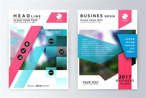 layout of paper presentation annual report brochure business plan flyer design