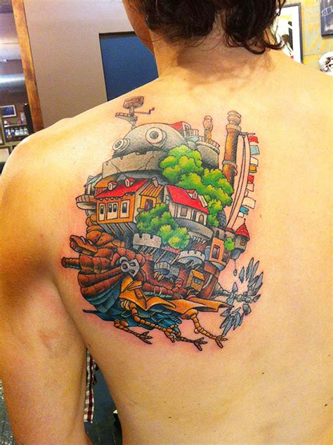 ghibli tattoo 19 amazing studio ghibli tattoos inspired by miyazaki