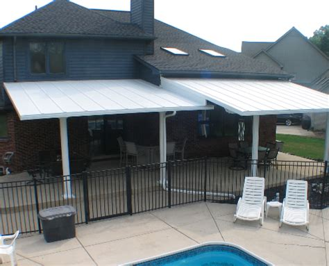 side awnings for patios patio covers aluma side siding and windows