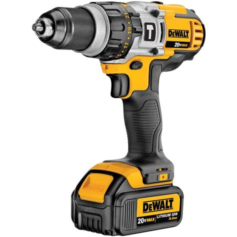 dewalt 20 volt max 3ah lithium ion hammer drill and
