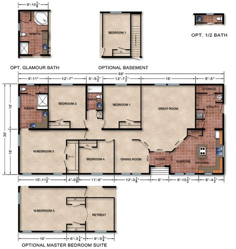 Michigan Home Builders Floor Plans | michigan modular homes prices floor plans modular home