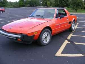 1983 fiat x1 9 disposable sports car 1 totally that stupid