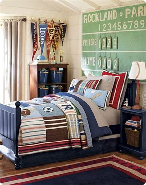 Boys Sports Bedroom by Sports Themed Boy S Room