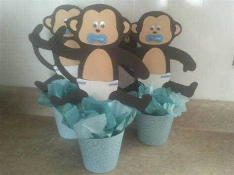Centros De Mesa Baby Shower by Changuitos Centro De Mesa Baby Shower