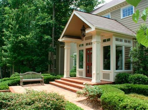 porch cover on pinterest raised ranch entryway covered 112 best split entry renovations put a porch on it