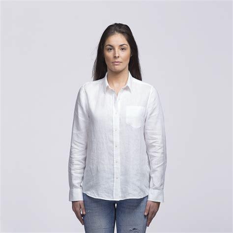 Linen Shirt womens linen shirt wsilw impact print stitch