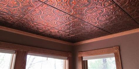 Locking Ceiling Tiles by 1000 Images About Tin Patented Snap Lock Tiles On
