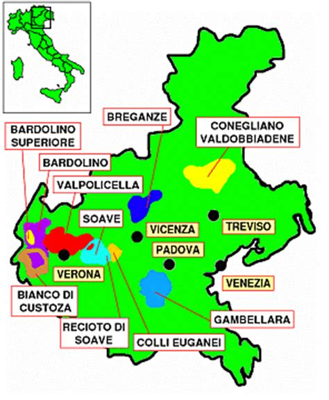 Can You Match The Wine To Its Region Of Origin by Veneto Diwinetaste