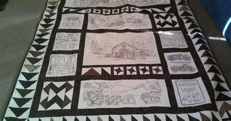Vintage Tin Quilt by This Is From A Crabapple Hill Pattern Called Vintage Tin