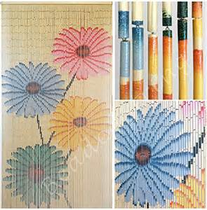 Beaded Door Curtains Bamboo » Home Design 2017