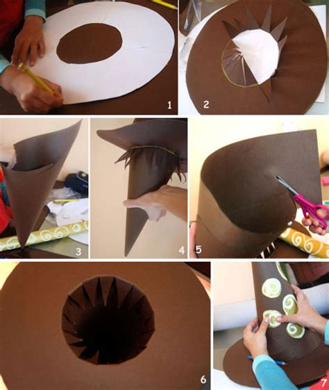 Papercraft Diy - 4 easy diy hat crafts for to complete their