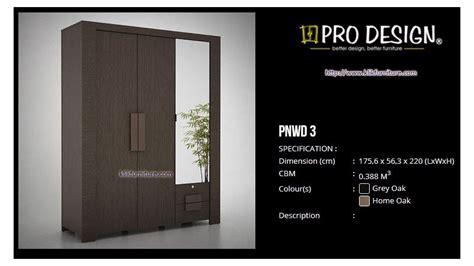 Lemari Hias Kaca 3 Pintu lemari minimalis 3 pintu pnwd 3 panama prodesign