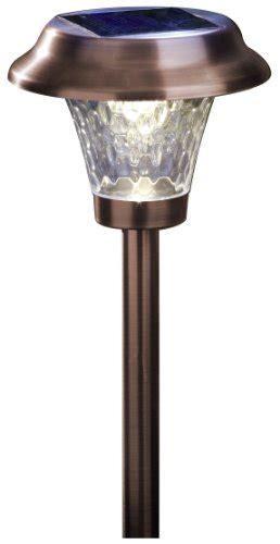 Bronze Solar Path Lights Moonrays 91762 Path Lights 4 Pack Bronze