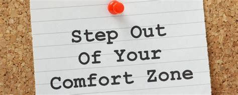 Get Out Of Comfort Zone by Ready To Grow Get Out Of Your Comfort Zone Price Turner Cfos