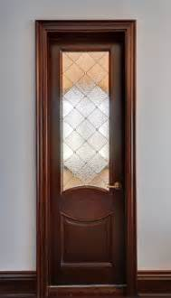 Custom art glass door inserts traditional bathroom new york by