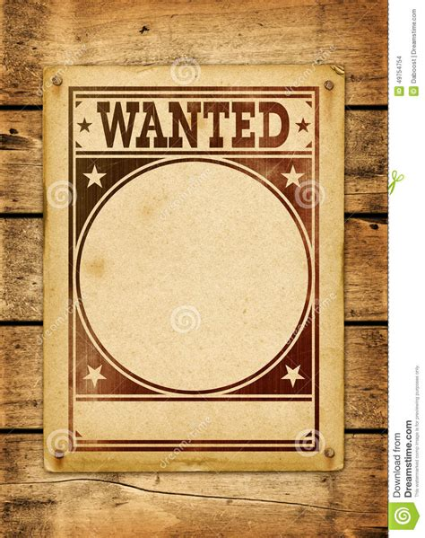 wanted woodworker wanted poster on a wood board stock illustration image