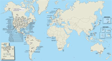 lds maps map of all 150 operating lds temples worldwide lds media