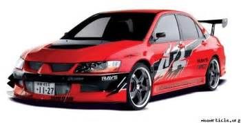 Mitsubishi Evo 8 Fast And Furious Mitsubishi Lancer Evolution From Fast And Furious Tokyo