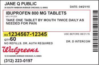 Add Adult Account Home Walgreens Walgreens Prescription Label Template