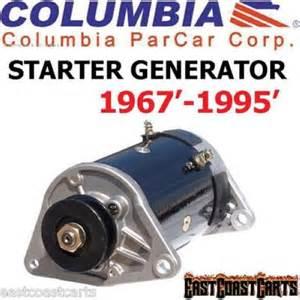 columbia par car harley davidson 1967 1995 golf cart starter generator ebay