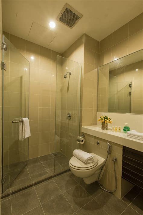 private bathroom penang service apartment penang hotel luxfort 118