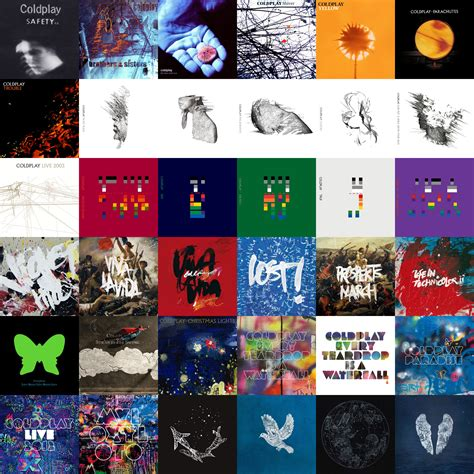 coldplay discography coldplay album collage imgur pics onemusic tv