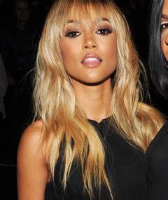 karrueche tran blonde plus size model ashley graham debuts lingerie line at nyfw