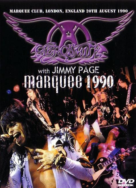 Aerosmith Unplugged 1990 1cd 2017 aerosmith with jimmy page marquee 1990 1dvd giginjapan