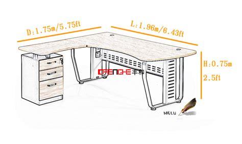 taille bureau standard bureau bureau dimensions bureau bureau tiroir de