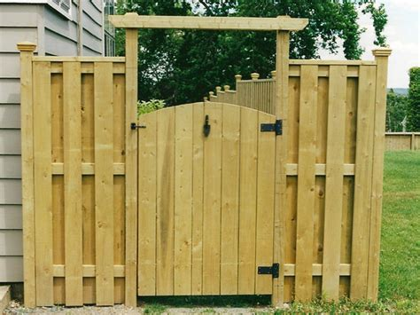 Wood Fence Door by 3 Suggestions In Favor Of Wooden Fences Raleigh Small Biz
