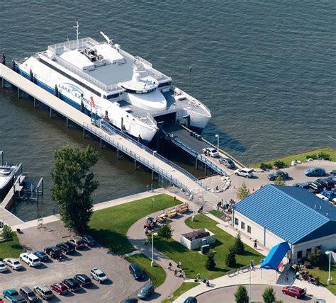 ferry boat lake michigan muskegon lake express lake michigan s high speed auto
