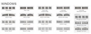 Clopay Garage Door Window Inserts Window Design Options Door Systems