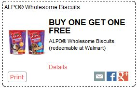 printable alpo dog food coupons rare buy 1 get 1 free alpo wholesome biscuits coupon matchup
